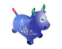 母牛玩具 免版税库存图片