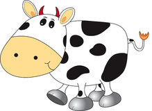 母牛甜点 免版税库存图片