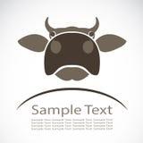母牛的传染媒介图象 免版税库存图片