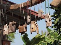 母牛的颈铃 免版税库存照片