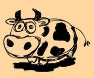 母牛 向量例证