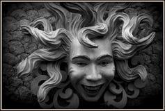 水母面孔 免版税库存照片