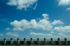 每一线希望有一朵云彩 库存图片