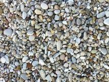 每个大小和颜色海小卵石  免版税库存图片