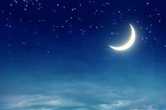 每夜的天空 皇族释放例证