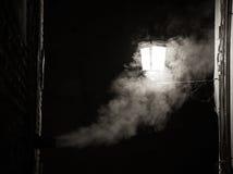 每夜的烟 库存图片
