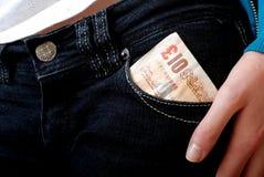 每小时货币矿穴费率 免版税库存图片