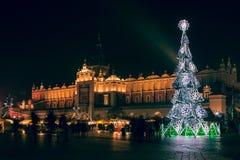 每年圣诞节市场 库存图片
