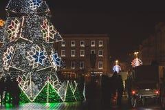 每年圣诞节市场 免版税图库摄影