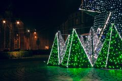 每年圣诞节市场 图库摄影