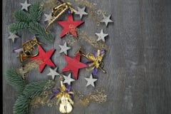 每年圣诞节装饰 免版税库存照片