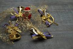 每年圣诞节装饰 库存照片