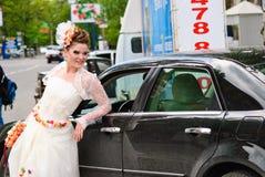 每年游行婚礼 库存照片