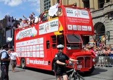 每年游行自豪感多伦多 免版税库存照片