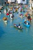 每年狂欢节意大利执行威尼斯 图库摄影