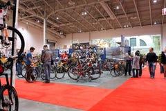 每年自行车显示多伦多 免版税图库摄影