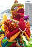 每年花节日游行在清迈,泰国 库存照片