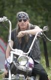 每年骑自行车的人节日国际 库存照片