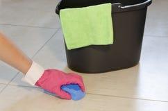 每日房子清洁 免版税库存图片