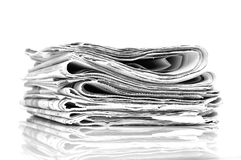 每日新闻 免版税图库摄影