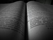 每本书是我的最好的朋友 并且这个朋友给我知识 图库摄影