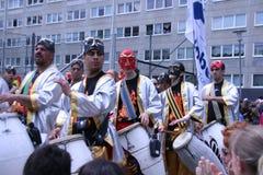 每年文化节日在Hammarkullen,哥特人,瑞典 库存照片
