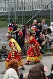 每年文化节日在Hammarkullen,哥特人,瑞典 库存图片