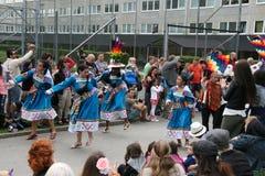 每年文化节日在Hammarkullen,哥特人,瑞典 图库摄影