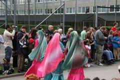 每年文化节日在Hammarkullen,哥特人,瑞典 免版税图库摄影