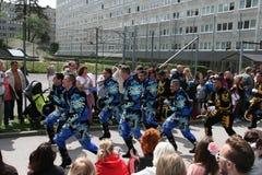 每年文化节日在Hammarkullen,哥特人,瑞典 免版税库存照片