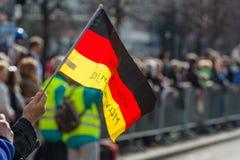 每年柏林半马拉松 berlitz 德国 免版税库存照片