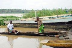 每年比赛独木舟 库存照片