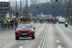 每年第37场柏林半马拉松 库存图片