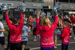 每年第37场柏林半马拉松 免版税图库摄影