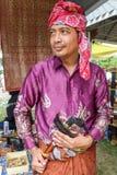 每年Lumpini文化节日的南部的泰国人 免版税库存照片