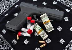 毒品交易和帮会 库存图片