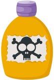 毒物 向量例证