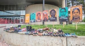毒瘾鞋子在 免版税库存图片