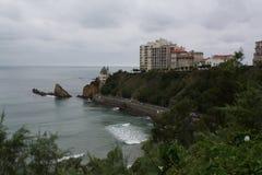 比亚利兹大西洋 免版税库存图片