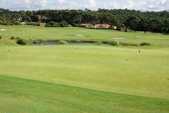 比亚利兹/法国27 07 18 :比亚利兹法国ilbarritz比亚利兹法国高尔夫球高尔夫球  免版税图库摄影