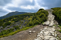 巴比亚山道路的风景 库存照片