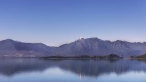 比亚里卡湖 免版税库存照片