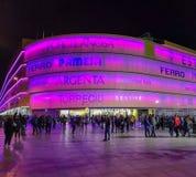 比亚雷亚尔,西班牙11/25/18:La Ceramica体育场  库存照片