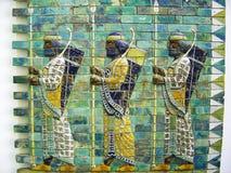 巴比伦墙壁 免版税库存照片