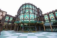 巴比伦赌博娱乐场,澳门渔人码头,中国。 免版税库存图片