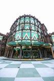 巴比伦赌博娱乐场,澳门渔人码头,中国。 库存图片