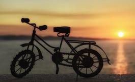 比例模型自行车 库存照片