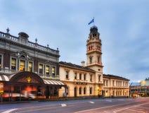比克Ballarat邮局 库存照片