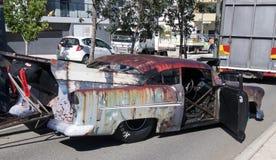 比利推车节日显示:滑稽的汽车 免版税库存照片