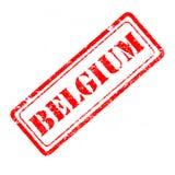 比利时不加考虑表赞同的人 免版税图库摄影